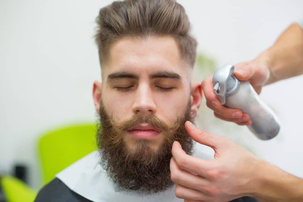 Как брить бороду снизу