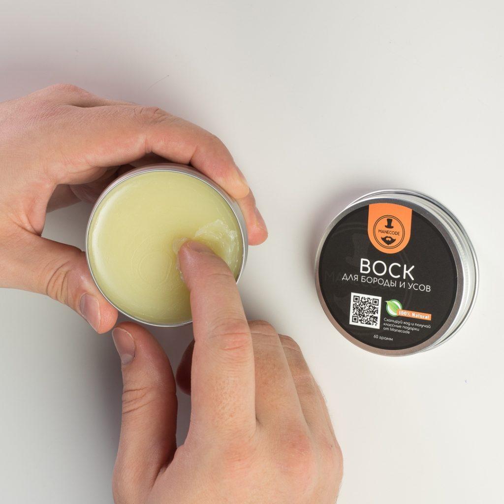 Manecode воск для усов и бороды