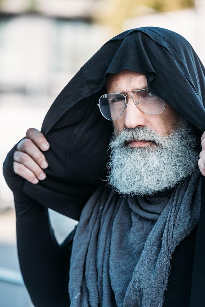 Что делать с седой бородой: скройте недостатки цвета или носите с гордостью